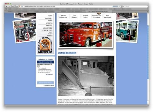 同じくコールランド交通博物館のcletracトラクターの「じょせつしゃ」