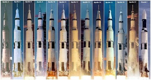サターン 全高110.6m /直径10.1mの巨大なロケット