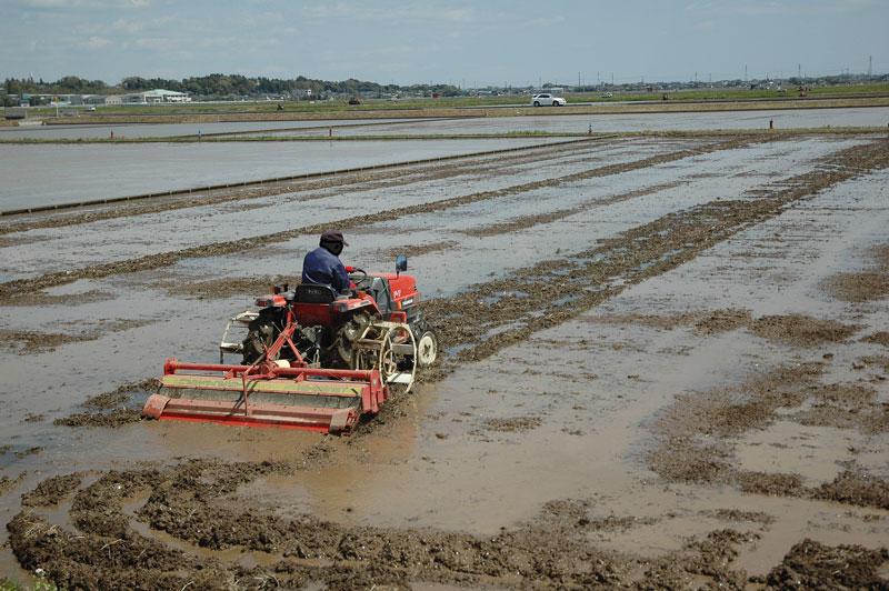 やり方 代掻き トラクターで耕す代かき効率のよい方法