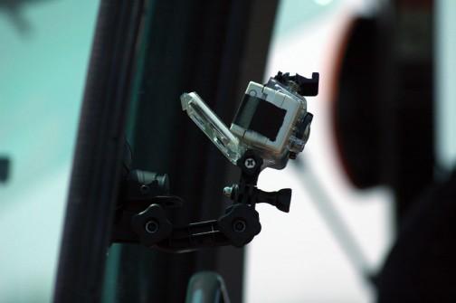 車内にもカメラ