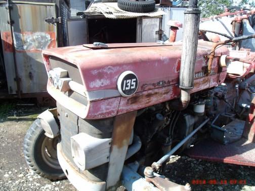 MF135 Instruction tractor