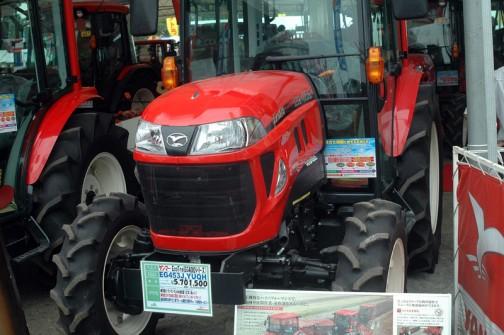 ヤンマーECOTRA(EG400シリーズ) YANMAR TRACTOR EG453J YUQH 価格¥5,701,500(税込み)