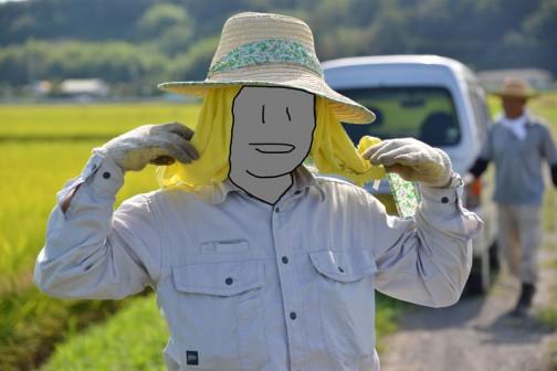 奥さんのものでしょうか? 花柄の麦わら帽がオシャレ! 暑さ対策はしっかりやらないとダメですよね!