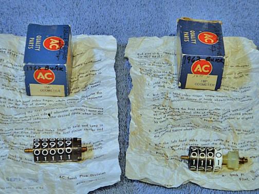 1962年、ビュイックのメーター部品・・・あるもんですねえ・・・・