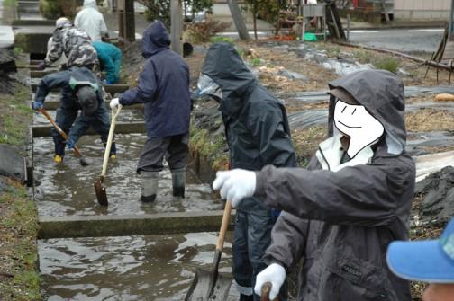 水戸市大場町島地区農地・水・環境保全会の総会やゴミ拾い、水路の泥上げなどがありました