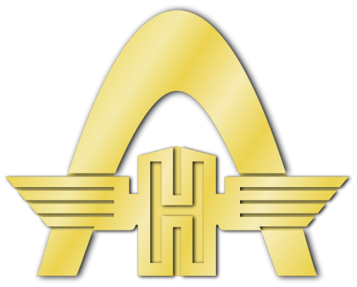 ラインシュタール・ハノマーグ社のロゴ