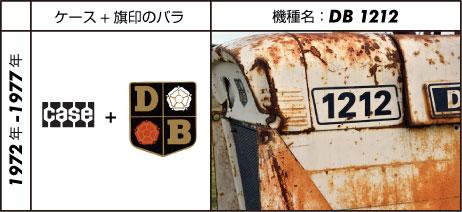 デビッド・ブラウントラクター1212 ケース仕様 David Brown 3.6L 4-cyl diesel 71 hp