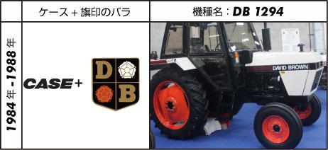 デビッド・ブラウントラクター1294 1983 61 hp