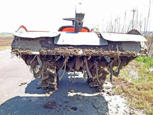 KUBOTA TRACTOR B6000 クボタトラクターB6000 一説によれば600cc2気筒ディーゼルエンジン11馬力 1973年から1977年まで生産されたそうです。