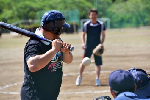 水戸市大場地区おとうさんソフトボール大会