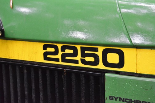 Aさんのジョンディア2250 1987 - 1994 4気筒3.9リッタディーゼル62馬力