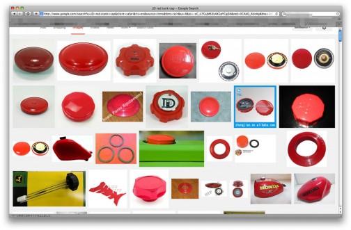 ちょっと調べただけでもこんなに赤いキャップが出てきて壮観です。なぜ赤にしたのか聞いてみたいな。