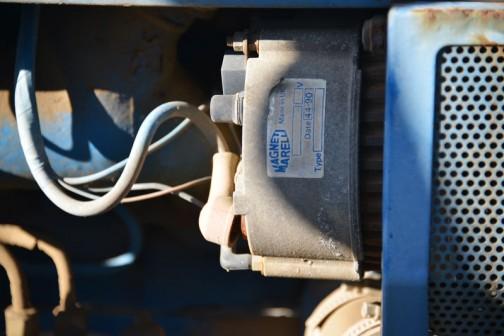 ジェネレーターでしょうか?MAGNET MARLLI Made in UK と書いてあります。これは初めて見たなあ。
