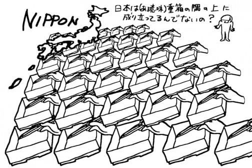 日本は重箱の隅の上に成り立っているんじゃない?(極論)