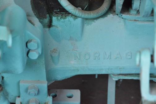 こちらはフロントアクスルでしょうか・・・ちゃんとNORMAGと書いてあります。