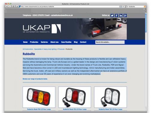 こちらもイギリスのブランド。50年ほど歴史があるトレーラーやトラックのテールランプみたいです。