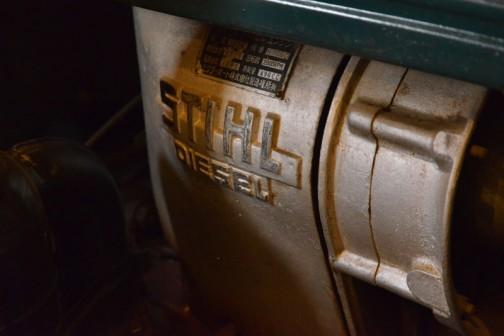 チェリートラクタ  1956年(昭和31) ビクターオート㈱製 (日本) CT-101型 10馬力