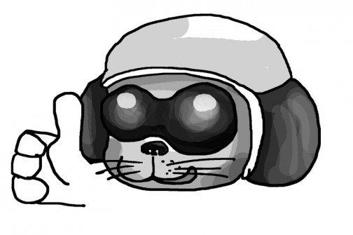 「ちょいワル」ポチのイメージはこうです。