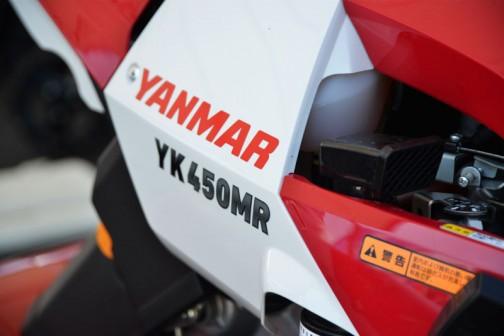 YK450MRボディ詳細。まあ、650MRと同じです。