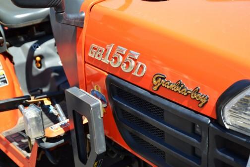 クボタトラクターGB155D 中古価格¥756,000 使用時間393時間 成約後バッテリ交換だそうです。