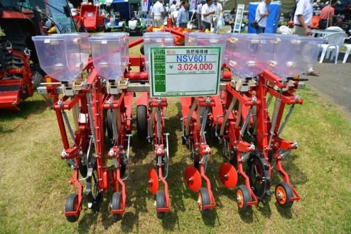 施肥播種機 NSV601 価格¥3,024,000 高価!そして複雑!