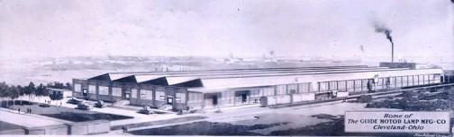 1906年に創業し、のちにゼネラルモーター社に買収されて、ビュイックやキャデラックのランプを作っていたそうです。