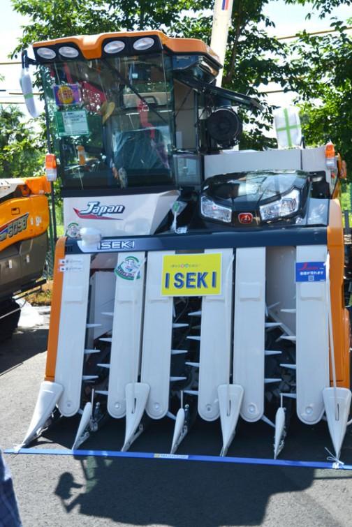 イセキコンバイン HJ6123GZCAPLW 価格¥16,308,000