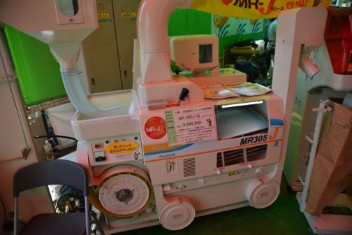 あ!これが大島農機の「ぶんぶん丸」なんですね! 大島・揺動選別 ジェット式籾摺り機 MR305J-G(ぶんぶん丸) 価格¥664200