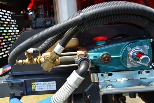 噴霧用ポンプ 形式:MS625S 吐出量:60L/min 常用吐出圧力1〜2.0MPa