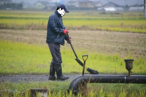 農道の砂利補充 多面的機能支払交付金