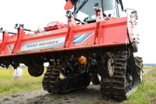 クボタ新型トラクター レクシアMR70パワクロ+ニプロ速耕サーフロータリーTBM2400