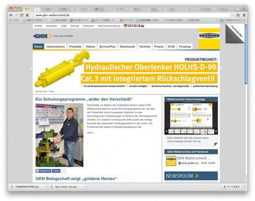 本家のサイトはこちら。ドイツのデュイスブルグで1919年に設立された自転車部品の会社が元になっているみたい。それが自動車部品を作るようになり、戦後1953年からPTOドライブシャフトの生産を開始。その会社が1966年にGKNという企業グループに買収された形でしょうか。