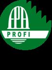 Kuratorium für Waldarbeit und Forsttechnik「林業仕事と技術のための評議員会」略してKWF。でもマークの中にFPAって書いてありますね。