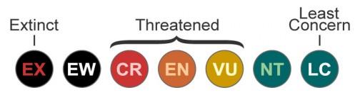 ッドリスト(英語: Red List, RL)とは、国際自然保護連合(IUCN)が作成した絶滅のおそれのある野生生物のリスト。正式には The IUCN Red List of Threatened Speciesという