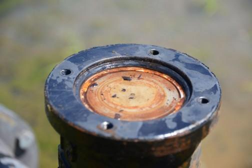 水路にある「アレ」あらため「空気弁」の修理