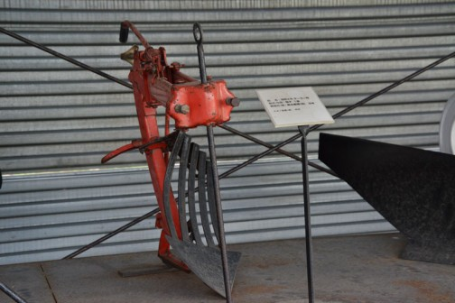品名:双用スキ デーラー用 形式・仕様:格子 1連 製造社・国:高北農機 日本