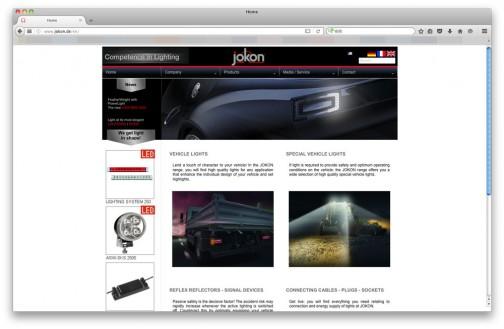 WEBサイトもありました。(http://www.jokon.de/)