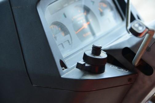 クボタGL-32は平成3(1991)年7月に安全フレームの検査に合格していますから、そこからだともう25年・・・よく見かけますが決して新しいというわけではありません。  クボタD1503-H水冷4サイクル3気ディーゼル1499cc 32馬力/2800rpmだそうです。