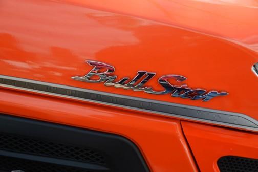 クボタ ブルスターエクストラ ハイクリ仕様 JB13XSHC 価格¥1,576,800 ★13.5馬力 総排気量:719cc ★S:パワステ ★受注生産 ★キャベツの作付け体系にピッタリのトレッド ★前後輪大径タイヤで、大きな最低地上高の本格乗用管理機