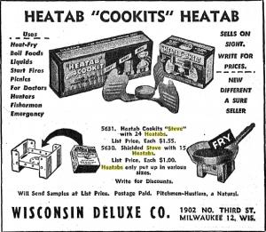 Heatab®小型ポータブルコンロ