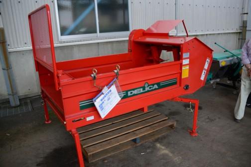 デリカ マニアスプレッダー DM-620B 中古価格¥270,000 こちらは長野の農業機械の作業機メーカー。