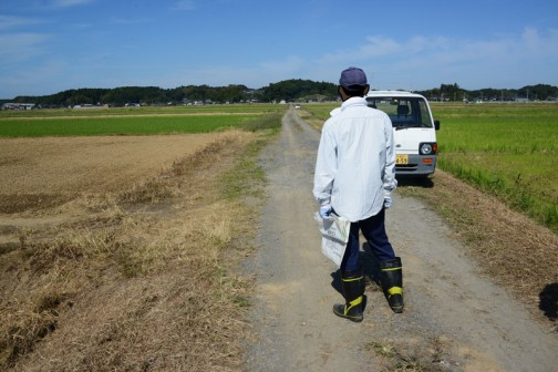 農道の点検