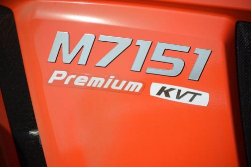 クボタトラクターM7001シリーズのM7151です。