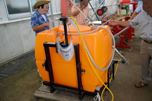 熊谷農機 ラクラクサンパーKG500 中古価格¥130,000 備考 備品あり 何かと思って調べてみたら、除草剤を撒く機械でした。トラクターに取付けて使うみたいです。熊谷農機というので埼玉県熊谷市の会社だと思ったら、新潟県燕市の会社でした。
