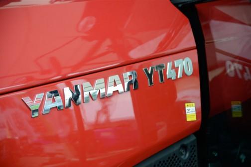 ヤンマートラクター YT4シリーズ? YT470 YT470,YUQR2 価格¥8,456,400 HMT無段変速オートマ感覚 カラーモニタ SAスマートアシスト 後は読めず  全長3960mm 全幅1850mm 全高2635mm 最低地上高450mm 機体重量2800kg エンジン形式4TNV98C 水冷4サイクル4 気筒直噴エコディーゼル 3.318ℓ 70PS/2600rpm 仕様燃料ディーゼル軽油 燃料タンク容量 110ℓ 油圧揚力2800kgf 大型特殊免許要