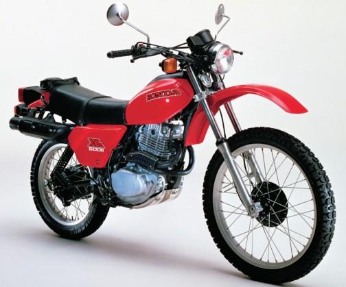 ホンダのXL500Sなんかも1979年だそうです。 標準現金価格は、365,000円。安い!
