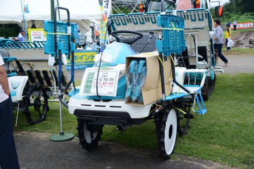 クボタ田植機ラクエル ZP55-D 価格¥2,138,400 現品限り展示会特別価格¥1,620,864