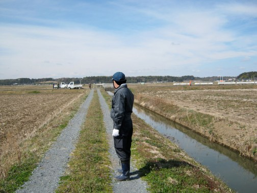 そして農道の点検。