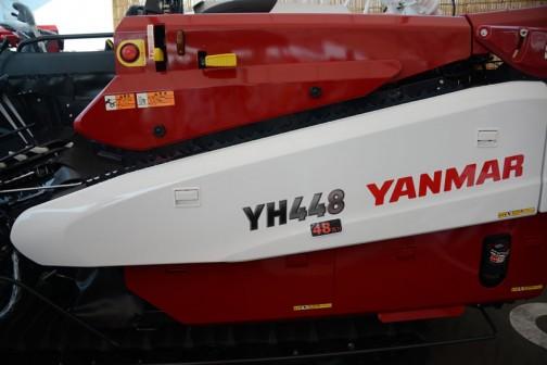 去年も見たヤンマー4条刈丸ハンドルコンバイン 48馬力 YH448,XJU