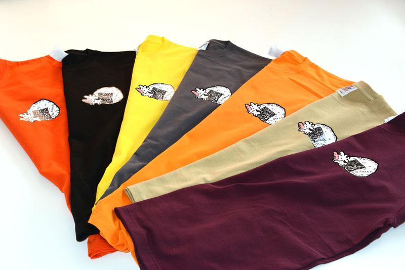 時間が経ってしまいましたが、お遊びで作ったTシャツ、希望者に発送しました!